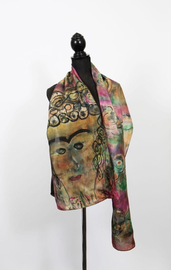 Frida on Silk